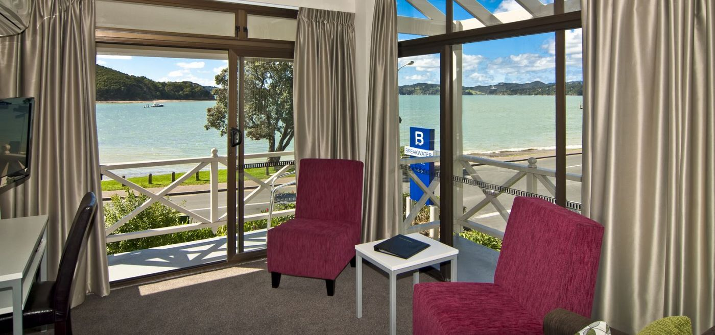 Motel Room at Breakwater Paihia