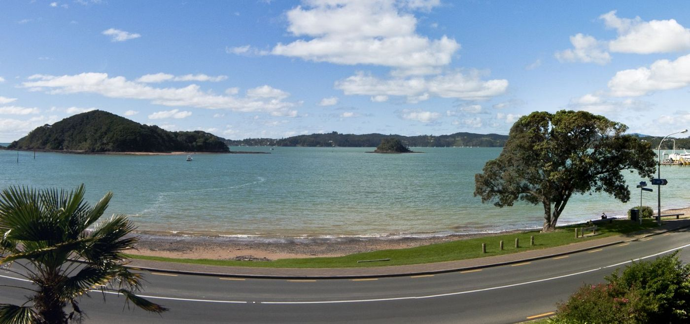 Streeview from Paihia Accommodation