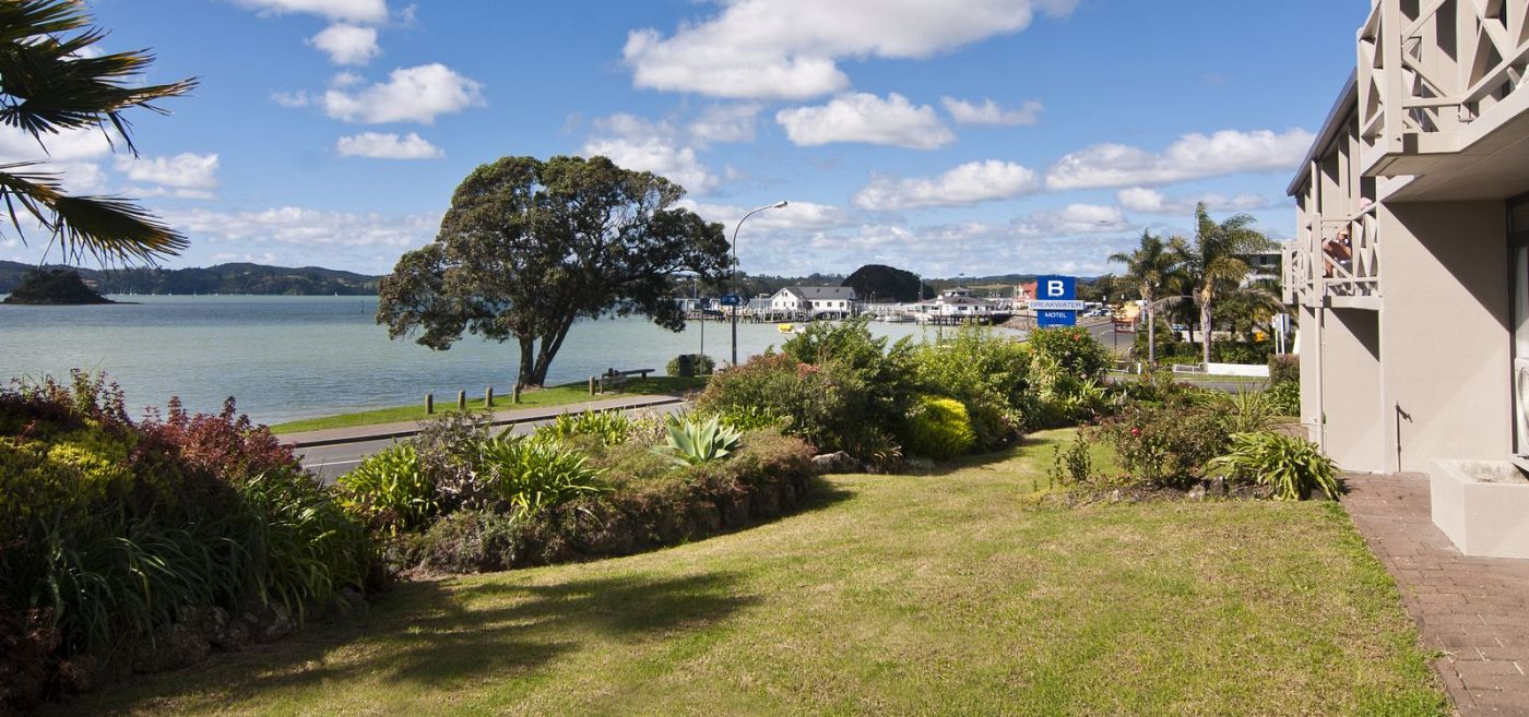 View of Paihia from Breakwater Motel